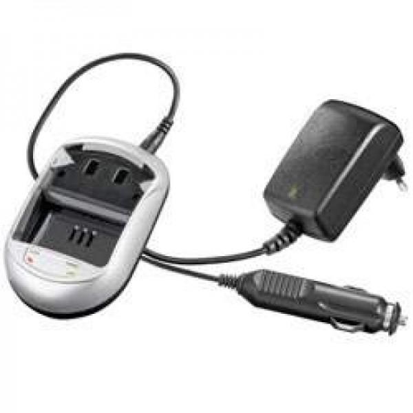 Hurtig oplader egnet til Sharp BT-L43, Sony BT-L43, VL-PD1