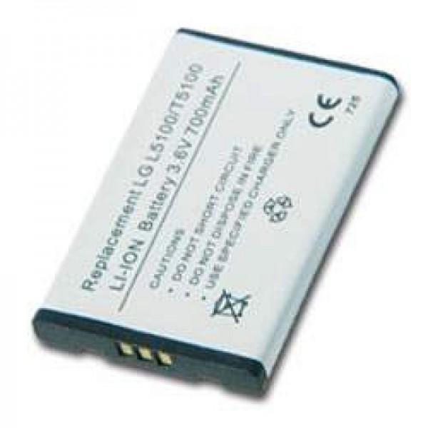 AccuCell batteri passer til LG L5100, LG T5100, 900mAh