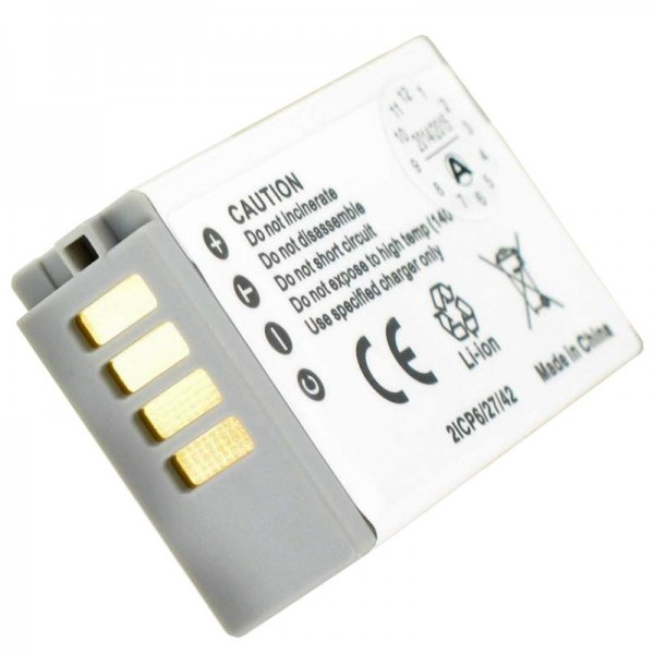 AccuCell batteri passer til Nikon 1 J5 genopladeligt batteri EN-EL24 genopladeligt batteri