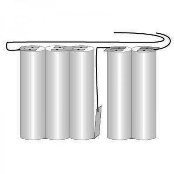 Batteri til nødbelysning, nødbelysning GI 2teilig juice VNT CS med kabel