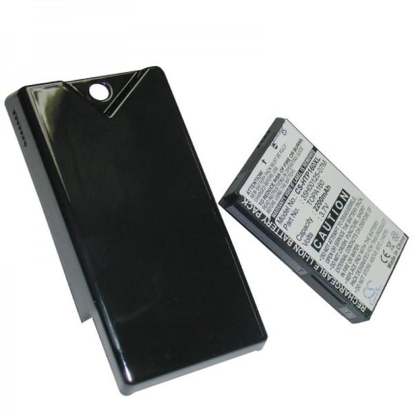 AccuCell batteri passer til HTC Touch Diamond 2 med ekstra cover