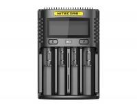 Nitecore UMS4 USB Quick Charger QC 2.0 kompatibel til Li-Ion batterier