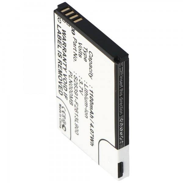 AccuCell batteri passer til Fujitsu-Siemens Pocket Loox N110