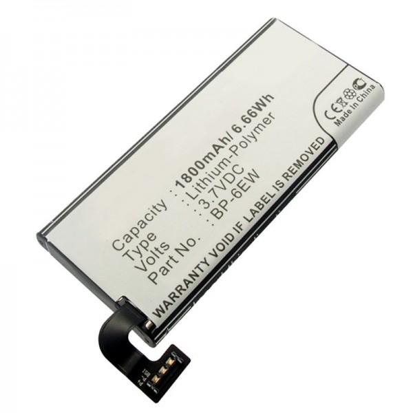 AccuCell batteri passer til Nokia Lumia 900 batteri, Lumia 900 4G LTE