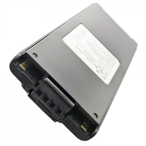Batteri passer til ICOM IC-F3, IC-F4, BP-196 NiMH batteri 1200mAh