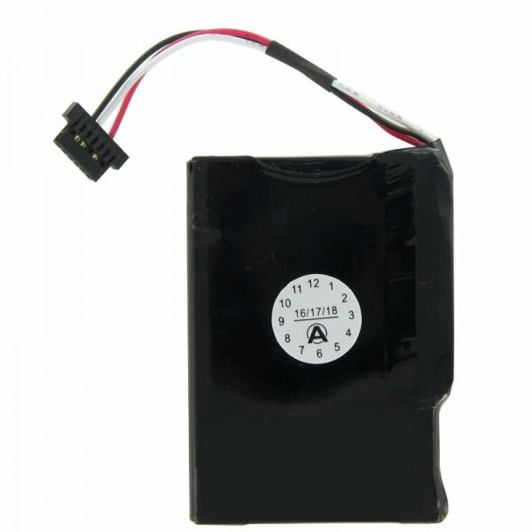 Medion GoPal E4230 genopladeligt batteri som en replik af AccuCell til Akku M1100