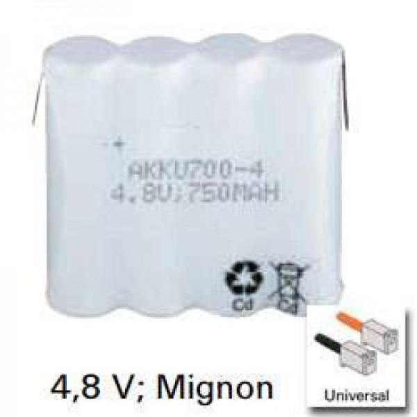 Batteri passer til Philips TD4902, TD9260, TD9262