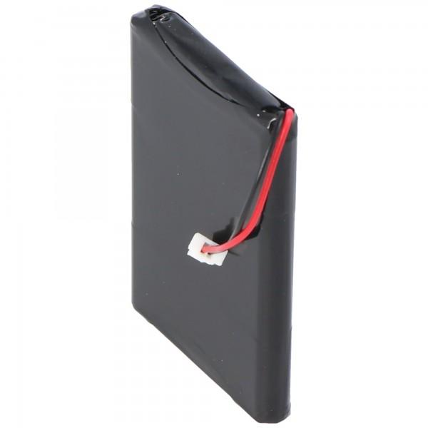 AccuCell batteri passer til Garmin Quest 1000mAh