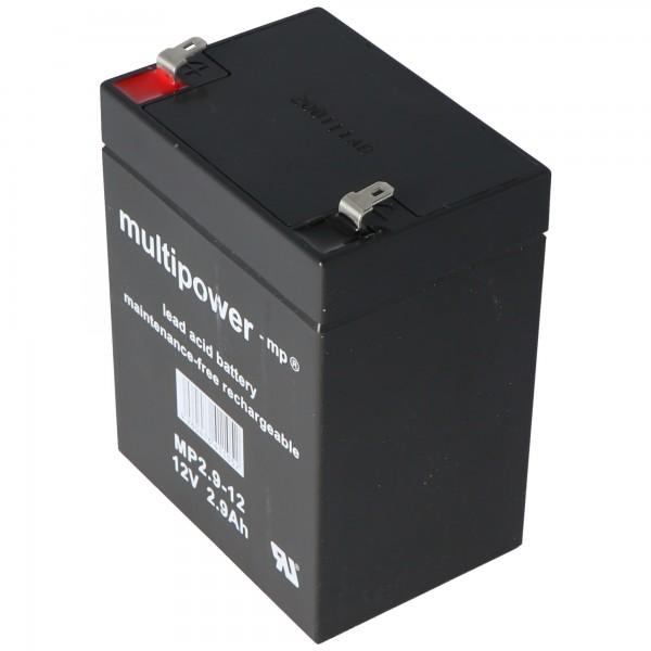 Fiamm FG20271 Batteri 2,7Ah