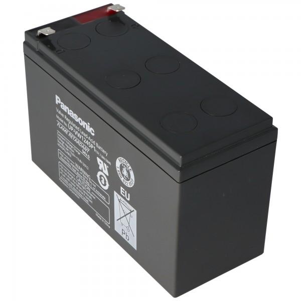 Panasonic UP-RW1245P1 Batteri PB 12Volt 7,8Ah, 9Ah, LC-R129P1, LC-R129CH1 (tidligere 9Ah, nu 7,8Ah)