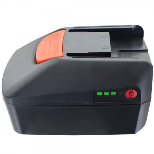 Batteri passer til Fein 18 Volt 3000mAh Li-ion batteri B18A.165.01, 92604173020, 92604165020, 92604171020f