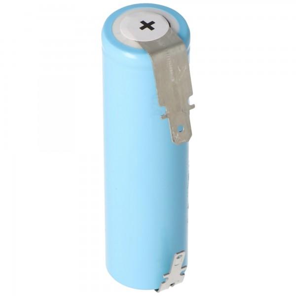 Udskiftning batteri L26 til Gardena Accu60 Li-Ion græs shears, med flad stik