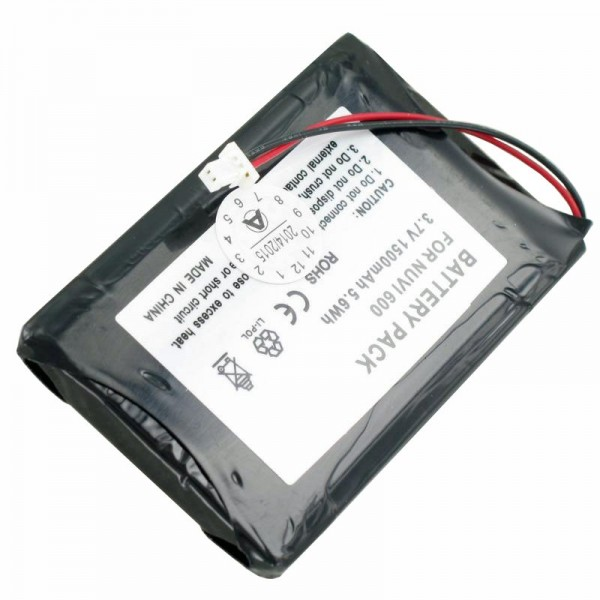 AccuCell batteri passer til Garmin Nuvi 600, D25292-0000