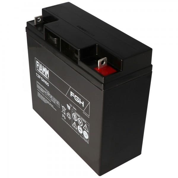 Fiamm 12FGH65 batteri FGH21803 blybatteri 12 volt 18Ah ideel som startbatteri