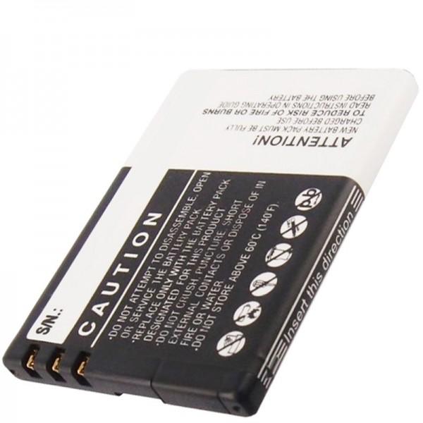 Mobistel EL460 genopladeligt batteri Elson EL460, BTY26176 genopladeligt batteri fra AccuCell