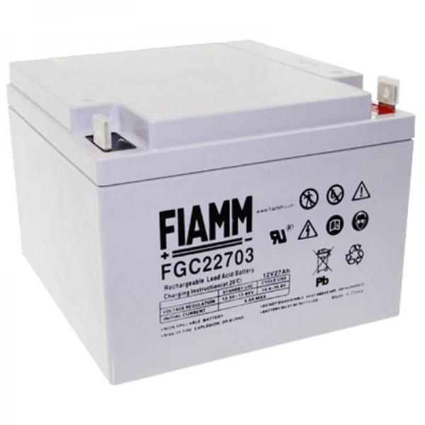 Fiamm FGC22703 Batteri Cyclic, 27Ah