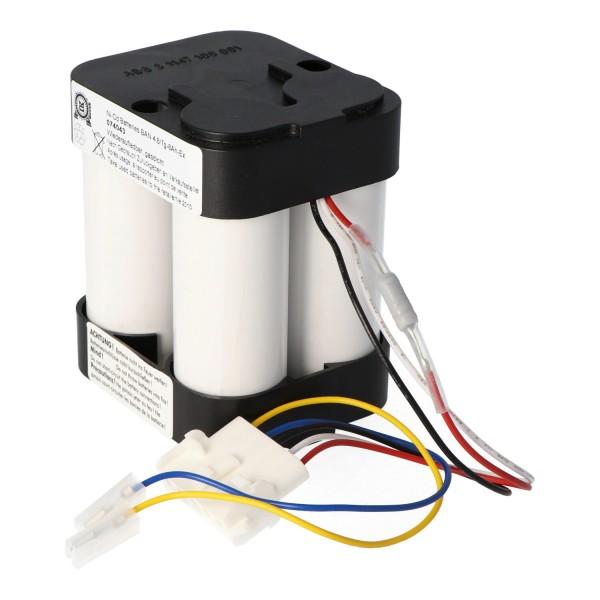 Batteri passer til BOSCH HSE7 Ex-beskyttet + 5xcable, SEB5.3, SEB8