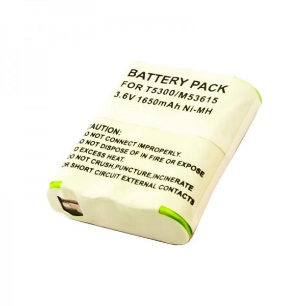 Batteri passer til Motorola HKNN4002A Talkabout FV500, T9500 3.6 Volt 1650mAh