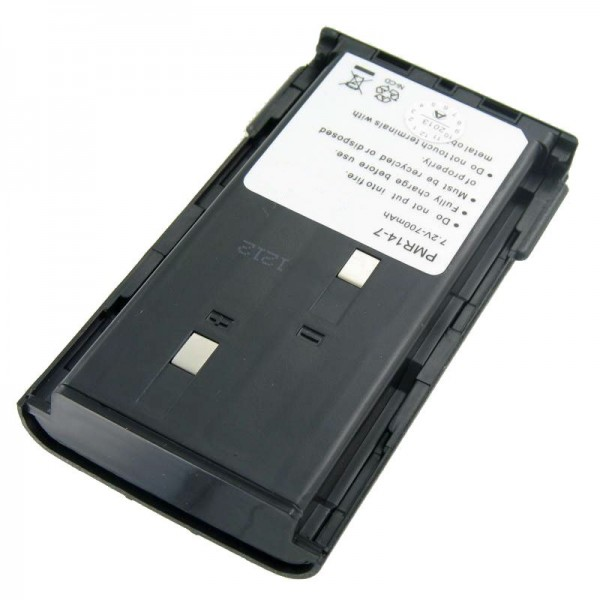 Batteri passer til Kenwood TK-261 batteri, KNB-14, -15, KNB-20N, 2100mAh