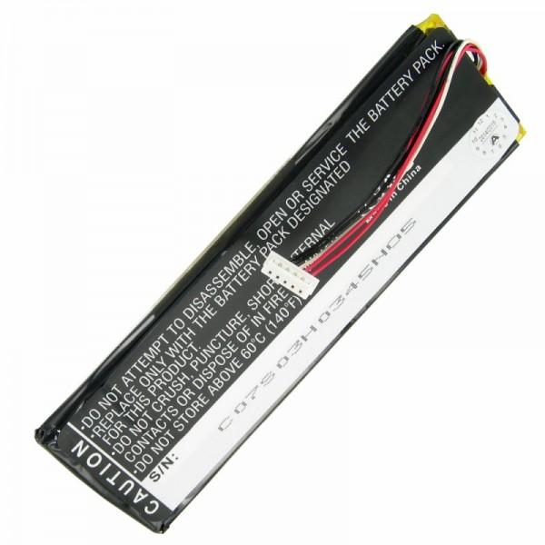 AccuCell batteri passer til Sonos CB100, CR100 fjernbetjening