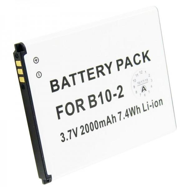 Caterpillar CAT B15 Batteri B10-2 som replik batteri fra AccuCell