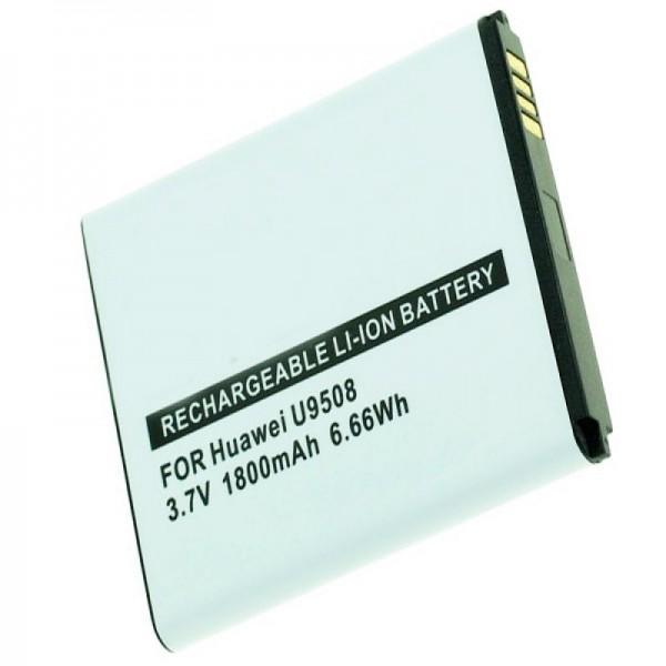 Huawei Honor 2, U9508, Honor Quad-batteri med 1800mAh fra AccuCell