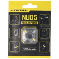 Nitecore NU05 LED-advarselslampe 4 højeffektive LED'er