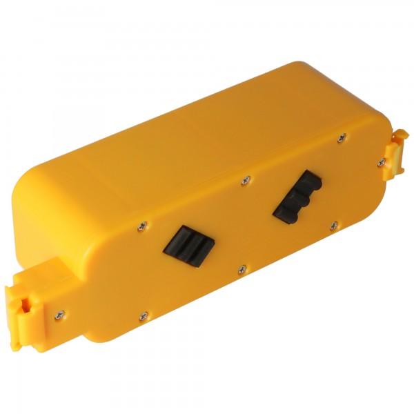 Batteri passer til IROBOT ROOMBA 400, 4000, 4210, 4250, 4260