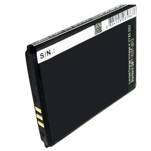 AccuCell batteri passer til mobiltelefon batteri Wiko MINIMI batteri
