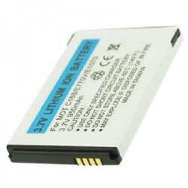 AccuCell batteri passer til Motorola MOTO Q, BT60, CFNN1042