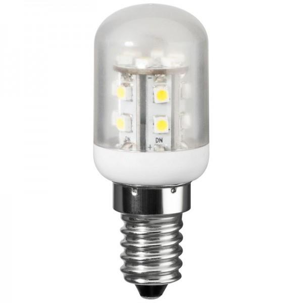 Køleskabslampe LED 1,2 Watt med stik E14, erstatter 10 Watt