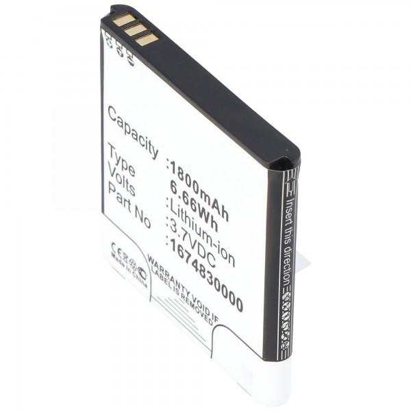 Batteri passer til trådløs router TP-Link batteri TL-MR11U