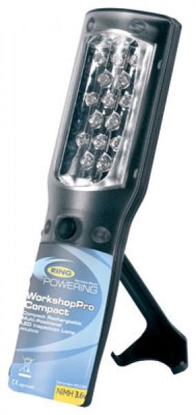 Kompakt LED-inspektionslampe med multi-positionering, trådløs