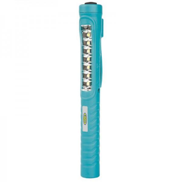 Inspektionslampe med 7 LED og Li-ion genopladeligt batteri