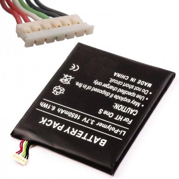 Batteri til HTC ONE S, Ville, Ville C, Z520e, Z560e Udskiftningsbatteri 35H00185-01M, 35H00185-02M