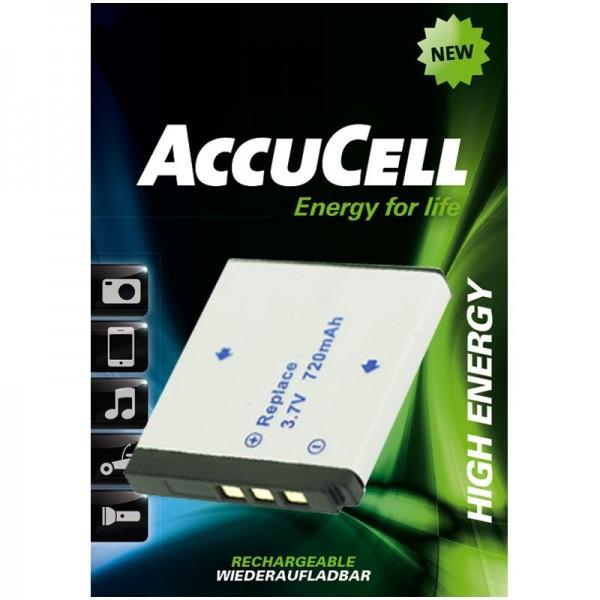 AccuCell batteri passer til Rollei XS-10 i Touch-batteri