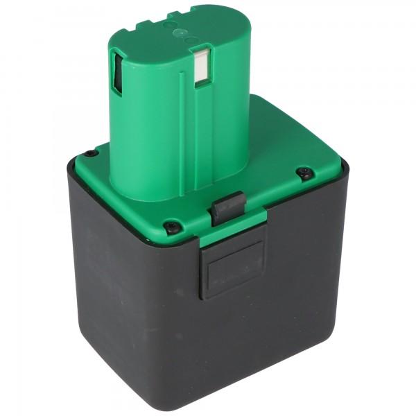 Replica batteri passer til Gesipa Li-ion batteri 14.4 volt, 4.0Ah (ingen original Gesipa batteri)