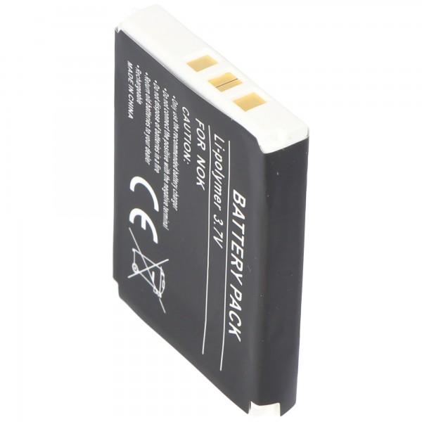AccuCell batteri passer til Nokia 3360, 1200mAh