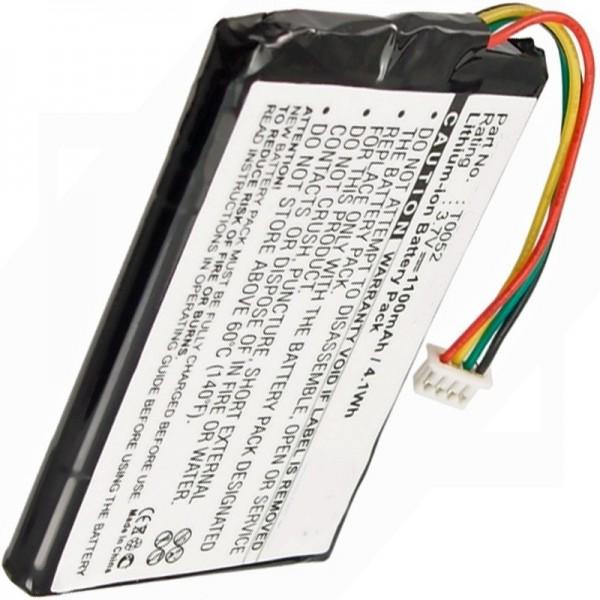 Medion GoPal P4225, GoPal P4425, T0052 Replica batteri fra AccuCell