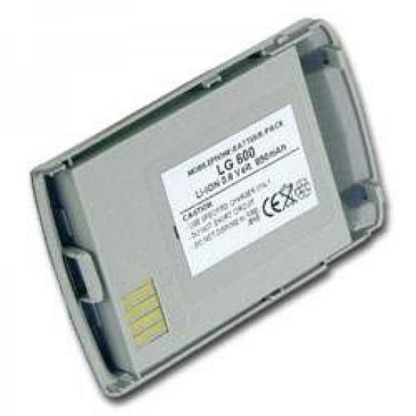 AccuCell batteri passer til LG 600, 600mAh