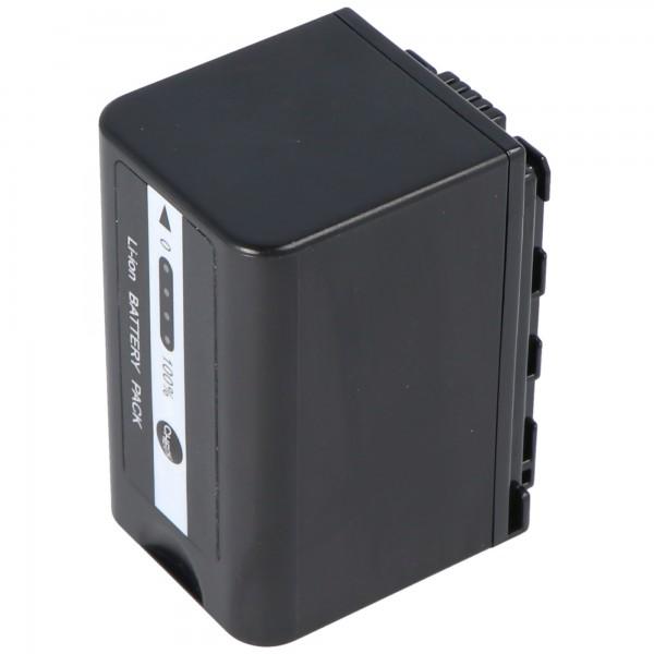 VW-VBD58 batteri til Panasonic HC-X1000 med batteriniveauindikator VW-VBD58