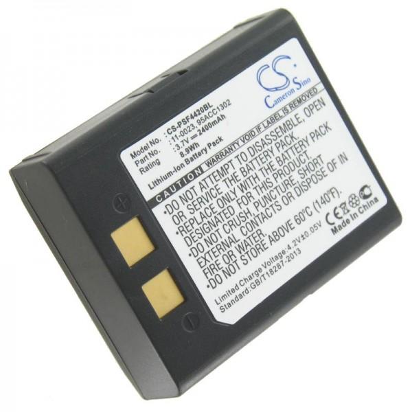 AccuCell batteri passer til PSC Falcon 4400, Falcon 4410, Falcon 4420