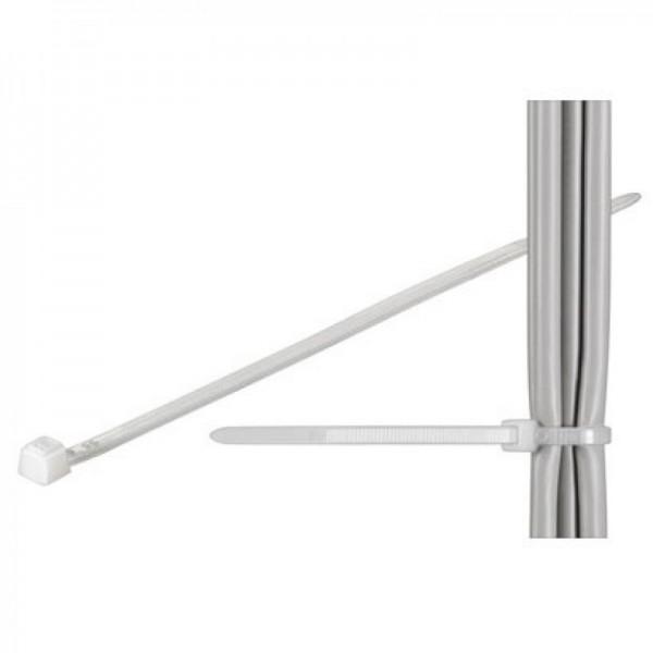 Kabel slips standard, gennemsigtig længde 380mm, bredde 7,6mm