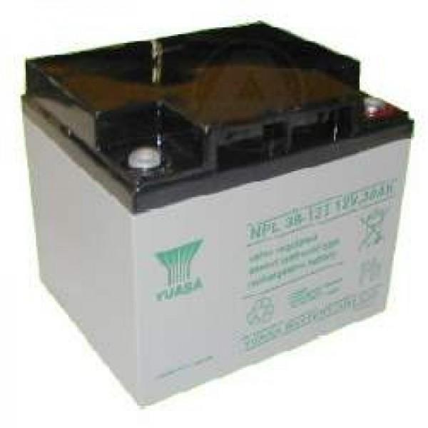 YUASA NP38-12 Batterilad PB 12 Volt 38000mAh