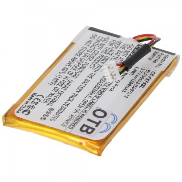 AccuCell batteri passer til Falk F5, F8, F10, F12, BLP5040835007212