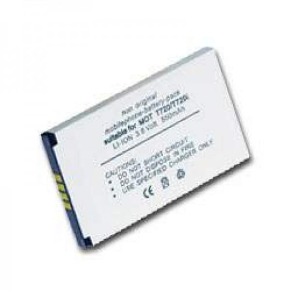 AccuCell batteri passer til MOTOROLA T720- T720i, BLS8550, BLX8570