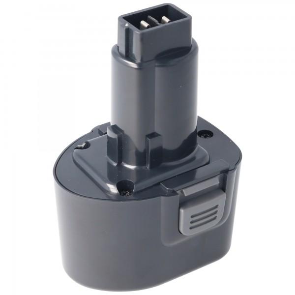 Batteri passer til Dewalt DE9057, DE9085, DW9057 7.2V NiMH 2.0Ah
