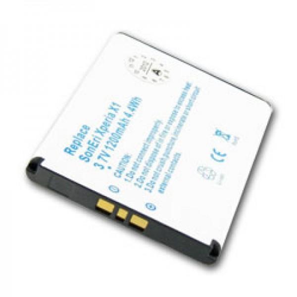 Batteri passer til Sony Xperia X1, Xperia X2, X10, BST-41 batteri