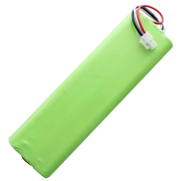 Batteri passer til Husqvarna 1128621-01, 1128621-01 / 6, 3Ah NiMH