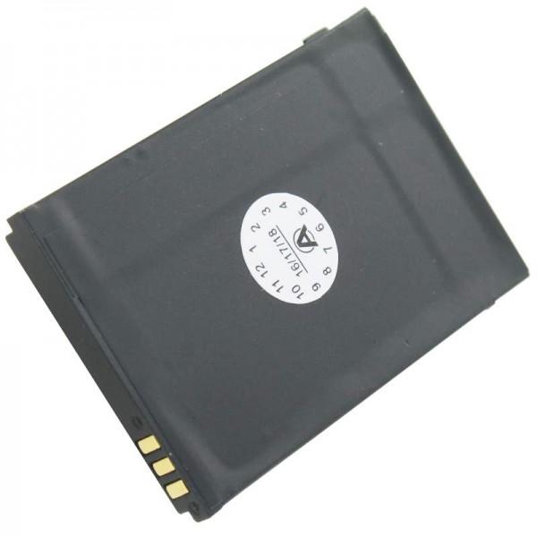 Batteri passer til DORO PHONEEASY 342 batteri XD0904009446, 01.10.CAREP0103